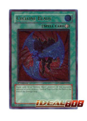 Cyclone Blade - POTD-EN043 - Ultimate Rare - Unlimited Edition