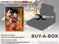 Dragon Ball Super CCG B03 Cross Worlds Buy-A-Box - Get x1 Dragon Ball Super Booster Box + Sleeve