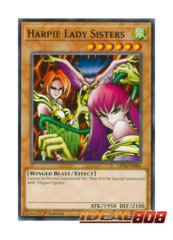 Harpie Lady Sisters - LED4-EN006 - Common - 1st Edition