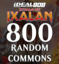 MTG Common 800-ct Card Lot - Rivals of Ixalan (RIX) Unfiltered, Unsorted **LIMIT TIME PRODUCT**