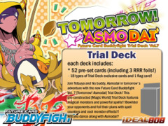 BFE-TD07 Tomorrow! Asmodai (English) Future Card Buddyfight Trial Deck
