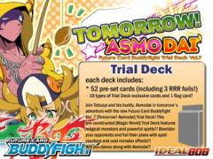 BFE-TD07 Tomorrow! Asmodai (English) Future Card Buddyfight Trial Deck