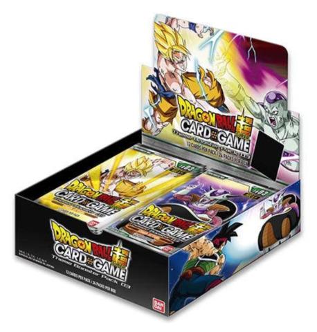 DBS-TB03 Clash of Fate (English) Dragon Ball Super Themed Booster Box