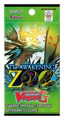 CFV-G-EB02 The AWAKENING ZOO (English) Cardfight Vanguard G-Extra Booster Pack