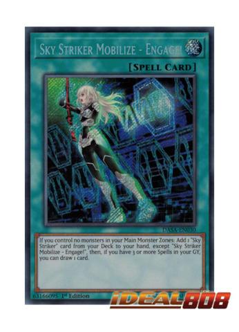 Sky Striker Mobilize - Engage! - DASA-EN030 - Secret Rare - Unlimited