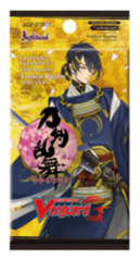CFV-G-TB01 Touken Ranbu -ONLINE- (English) Cardfight Vanguard G-Title Booster Pack
