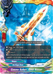 Cosmo Saber, Gold Ritter [S-BT02A-UB04/0041EN U (FOIL)] English