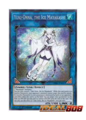 Yuki-Onna, the Ice Mayakashi - HISU-EN037 - Secret Rare - 1st Edition