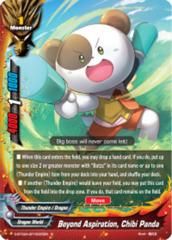 Beyond Aspiration, Chibi Panda [S-BT02A-SP/0005EN R (Glossy)] English