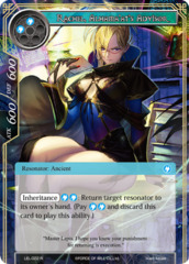 Rachel, Alhama'at's Advisor [LEL-022 R (Textured Foil)] English
