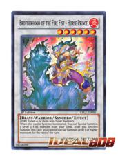 Brotherhood of the Fire Fist - Horse Prince - CBLZ-EN097 - Super Rare - 1st Edition