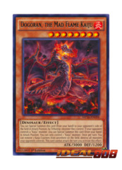 Dogoran, the Mad Flame Kaiju - MP16-EN098 - Rare - 1st Edition