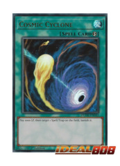 Cosmic Cyclone - DUDE-EN043 - Ultra Rare - 1st Edition