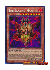 The Blazing Mars - DRL3-EN007 - Secret Rare - 1st Edition