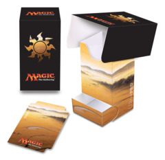 Magic the Gathering MANA 5 Ultra Pro Deck Box with Tray - Unhinged Plains (#86531)
