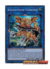 Knightmare Cerberus - FLOD-EN045 - Super Rare - Unlimited Edition