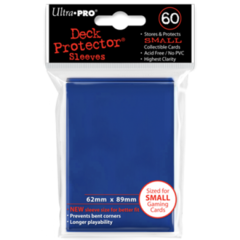 Ultra Pro Small Sleeves 60ct. - Blue (#82965)