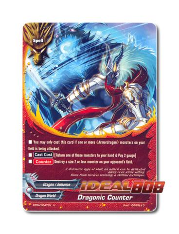 Dragonic Counter - BT04/0047EN (U) Uncommon