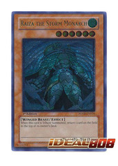 Raiza the Storm Monarch - FOTB-EN026 - Ultimate Rare - 1st Edition