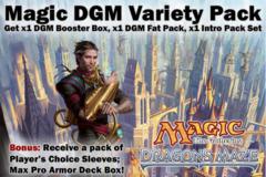 Magic DGM Dragon's Maze Variety Pack - Get x1 DGM Booster Box, x1 DGM Fat Pack, ALL 5 DGM Intro Packs + Bonus
