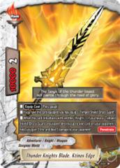 Thunder Knights Blade, Ktinos Edge [S-BT02A-SP/0018EN C (FOIL)] English