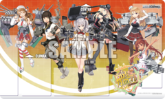 Weiss Schwarz KC/S42 KanColle : Arrival! Reinforcement Fleets from Europe! Case Promo Playmat