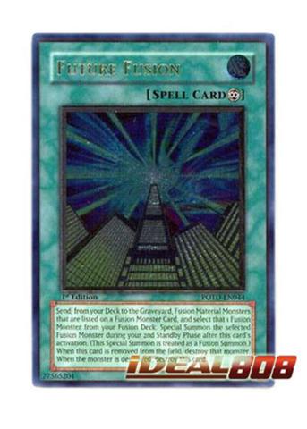 Future Fusion - POTD-EN044 - Ultimate Rare - Unlimited Edition