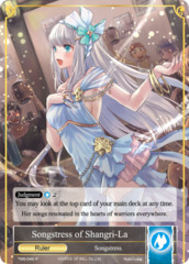 Songstress of Shangri-La // Coup d'Etat Mastermind, Shion [TMS-046 R (Full Art Ruler)] English