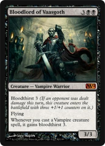Bloodlord of Vaasgoth - Foil