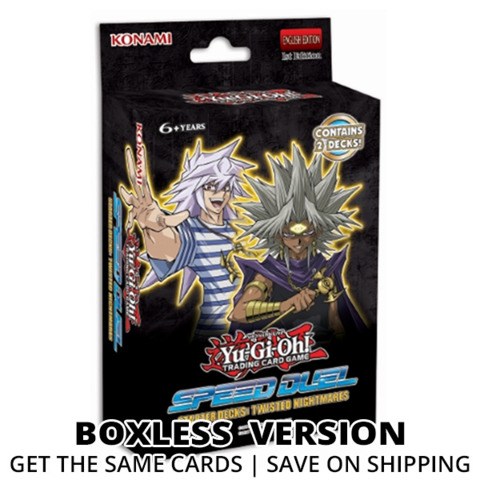 Twisted Nightmares Yugioh Speed Duel Starter  Deck (Boxless) * PRE-ORDER Ships May.15