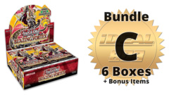 Blazing Vortex [BLVO] Bundle (C) - Get 6x Booster Boxes + Bonus Items * PRE-ORDER Ships Feb.05, 2021
