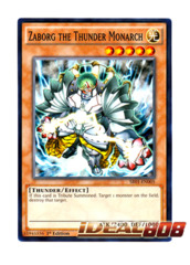 Zaborg the Thunder Monarch - SR01-EN005 - Common - 1st Edition