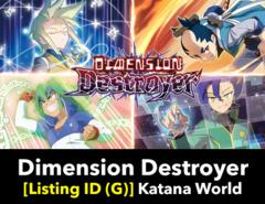 # Dimension Destroyer [S-BT02 Listing ID (G)]