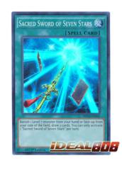 Sacred Sword of Seven Stars - MP14-EN042 - Super Rare - 1st Edition