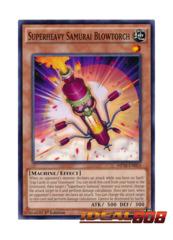 Superheavy Samurai Blowtorch - MP16-EN053 - Common - 1st Edition