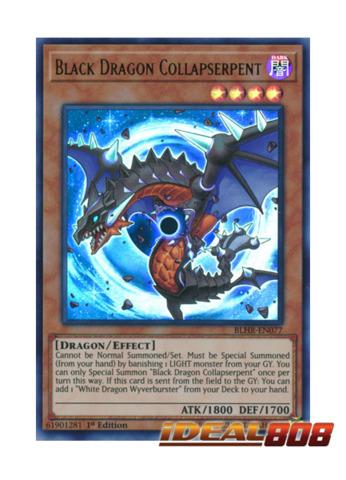 Black Dragon Collapserpent - BLHR-EN077 - Ultra Rare - 1st Edition