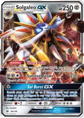 Solgaleo-GX - 89/149 - Ultra Rare