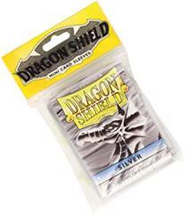 Dragon Shield Small Silver