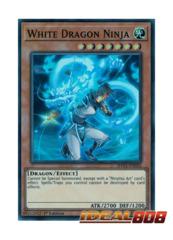 White Dragon Ninja - SHVA-EN024 - Super Rare - 1st Edition