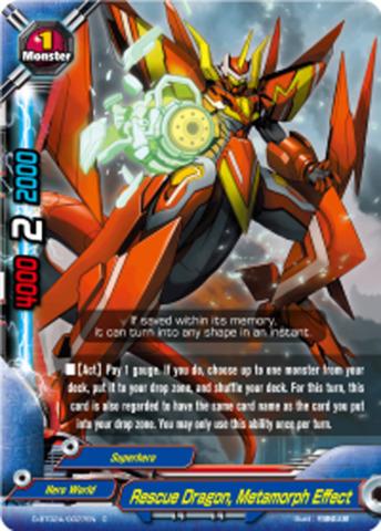 Rescue Dragon, Metamorph Effect [D-BT02A/0027EN C] English