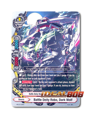 Battle Deity Robo, Dark Wolf [PR/0122EN] English Promo