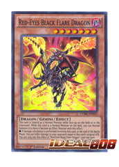 Red-Eyes Black Flare Dragon - CORE-EN020 - Super Rare - Unlimited Edition