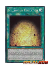 Millennium Revelation - LED7-EN006 - Super Rare - 1st Edition