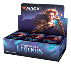 Commander Legends Draft Booster Box [24 Packs] * PRE-ORDER Ships Nov.06