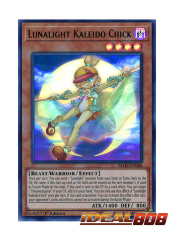 Lunalight Kaleido Chick - BLHR-EN068 - Ultra Rare - 1st Edition