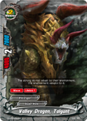 Valley Dragon, Talgunt [D-BT02/0093EN C (FOIL)] English
