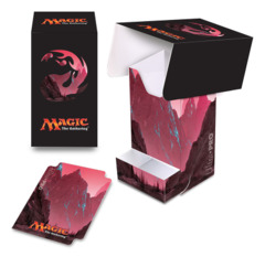 Magic the Gathering MANA 5 Ultra Pro Deck Box with Tray - Unhinged Mountain (#86534)