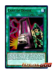 Card of Demise - MIL1-EN014 - Ultra Rare - 1st Edition