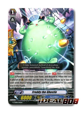Freddy the Ghostie - G-TD08/012EN - TD (common ver.)