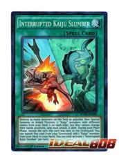 Interrupted Kaiju Slumber - BOSH-EN089 - Super Rare - Unlimited Edition